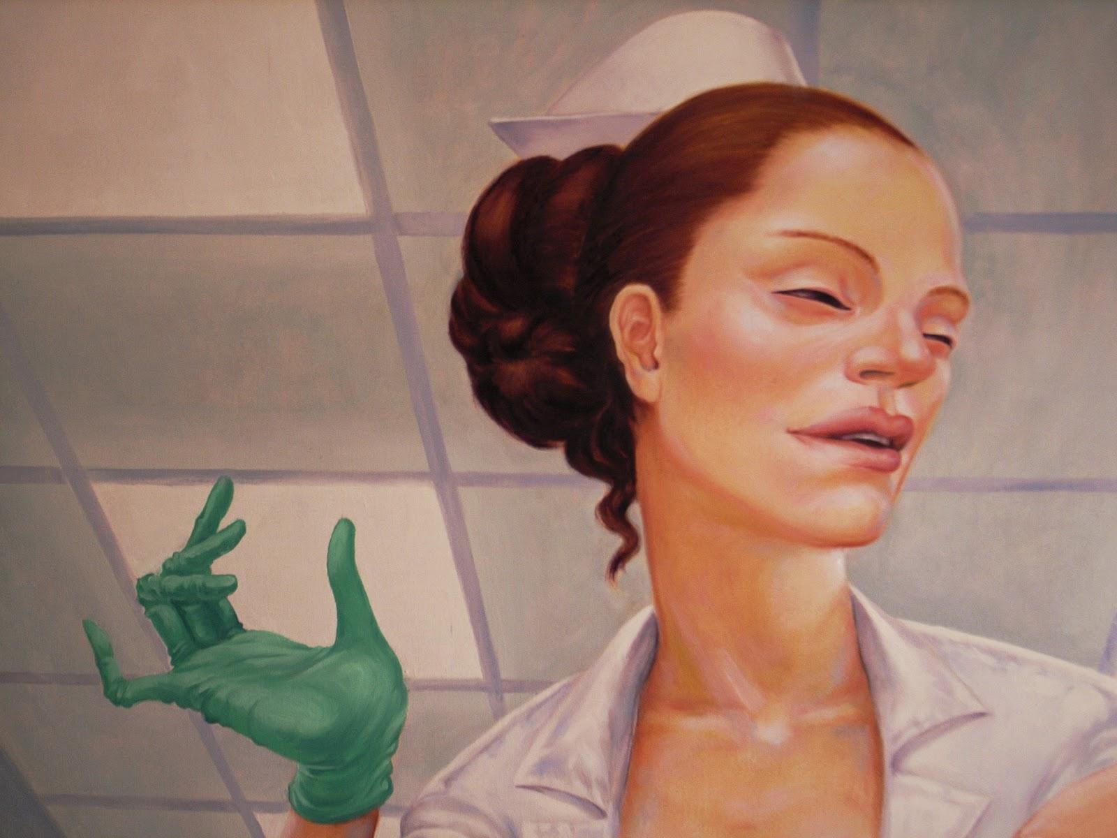 armando-prieto-perez-autoritratto-retroattivo-pediatra-dipinto-olio-tela