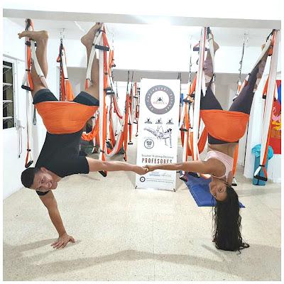 columpio yoga aereo