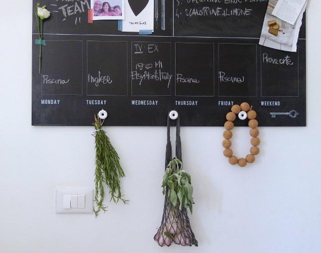 Appunti di casa la nuova lavagna m larna di ikea nella - Appunti di casa ...