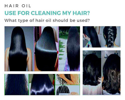 Hair Oil: What type of hair oil should I use to clean my hair?