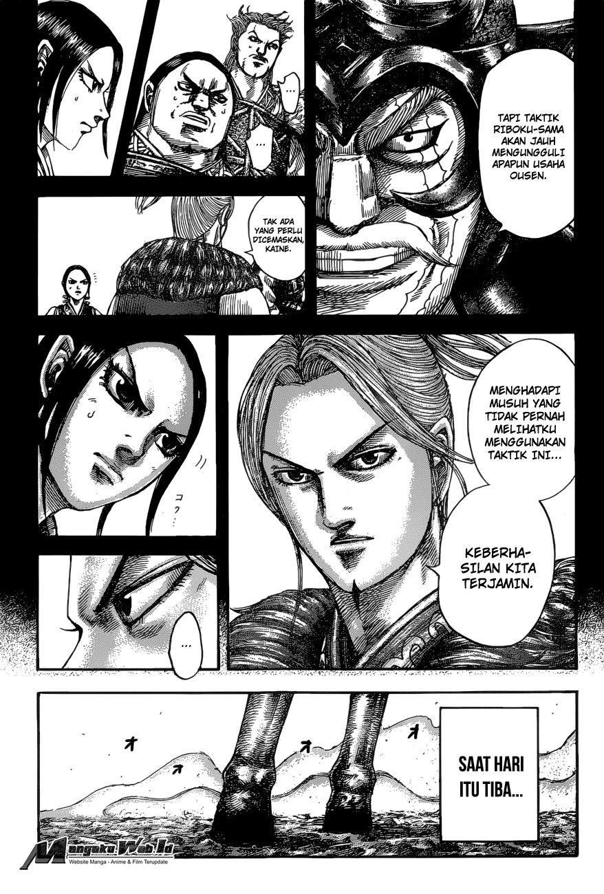 baca Kingdom – Chapter 531 : Titik Balik