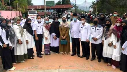 Pemko Sawahlunto Laksanakan Vaksinasi untuk para Pelajar