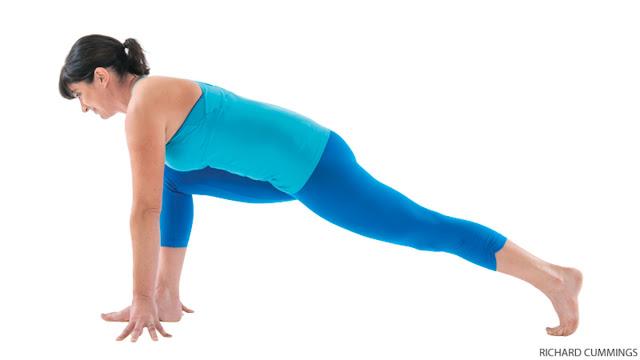 ài tập yoga tăng cường sức khoẻ Lunge