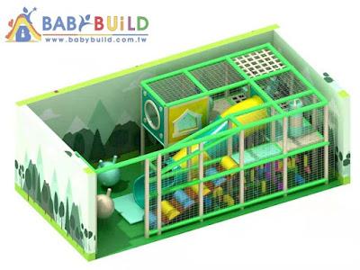 BabyBuild 室內3D泡管遊具設計彩圖
