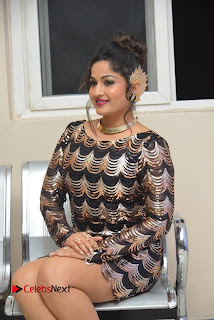 Actress Madhavi Latha Pictures in Short Dress at On Mona Birthday Premiere 0040