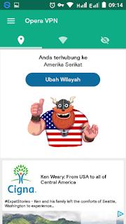 Opera VPN Gratis Untuk Indosat