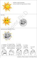 Komik Gerhana Matahari
