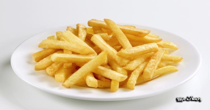 طريقة عمل بطاطس محمرة على طريقة المطاعم