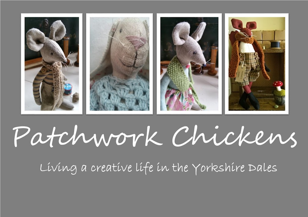 Patchwork Chickens
