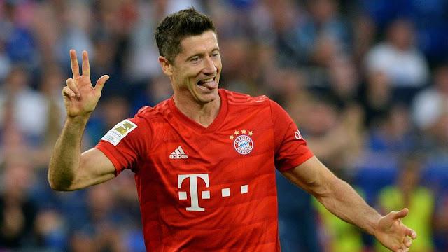 Bundesliga | Lewa yaptığı hat trickle Schalke'yi bozguna uğrattı...