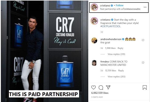 THIS IS PAID PARTNERSHIP [EXAMPLE]