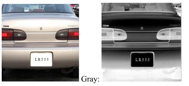 Verilog code for License Plate Recognition