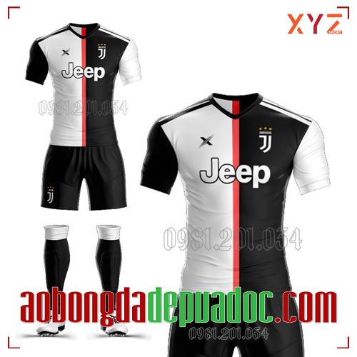 Áo Juventus 2020 Sân Nhà Màu Trắng Đen Đẹp Và Độc