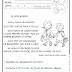 OS DOIS AMIGOS - DOIS TIPOS DE LETRAS - FAMÍLIA SILÁBICA DA LETRA D - 1º ANO/ 2º ANO