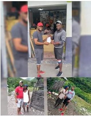 EL EMPRESARIO Y REIDOR FERNANDO MATEO REALIZA DONACIÓN DE MATERIALES PARA CONSTRUCCIÓN DE VIVIENDA EN RÍO ARRIBA DEL SUR