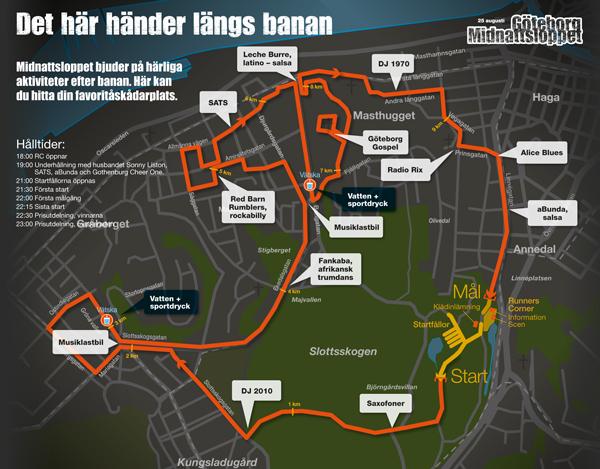 midnattsloppet göteborg karta Tomas Klassiker: Midnattsloppet Göteb2012 midnattsloppet göteborg karta