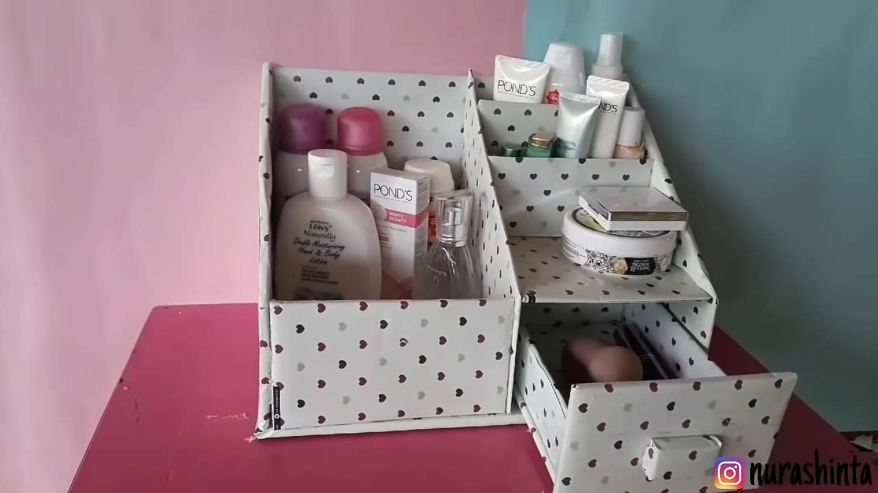 Cara Membuat Tempat Make Up Dari Kardus Cara Membuat Tempat Make Up Dari Kardus Sederhana Dan Simple Klikdisini Id Cara membuat tempat kosmetik