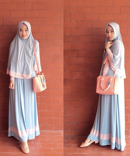 Aneka Gamis Muslimah Cantik Yang Cocok Untuk Menghadiri Pesta Atau