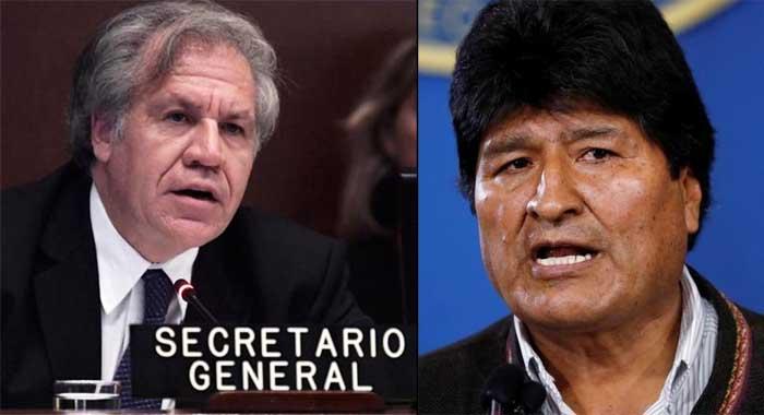 Fraude en Bolivia