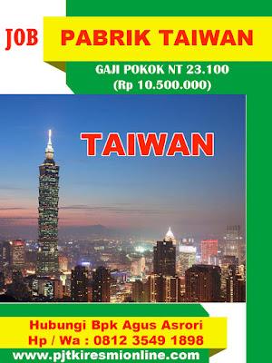 Bekerja Menjadi TKI di Taiwan Bisa Dapat Rp 10 Juta/Bulan