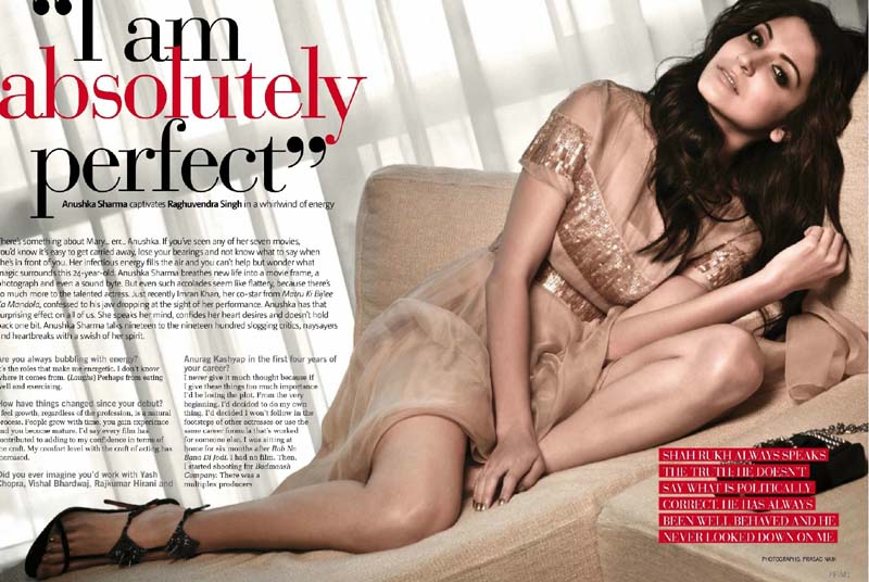 Anushka sharma hot snaps for maxim