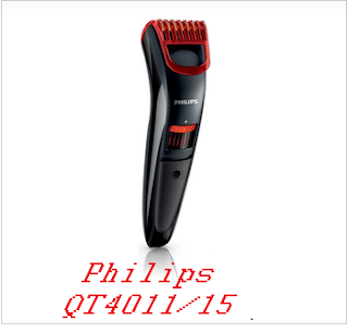 Philips QT4011/15 Corded & Cordless Trimmer for Men – Best trimmers in India:
