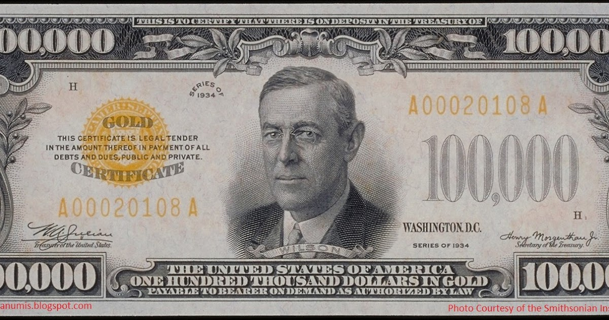 Numismatica :: Banknote & Coin Collecting: Illegal to own the 1934 ...