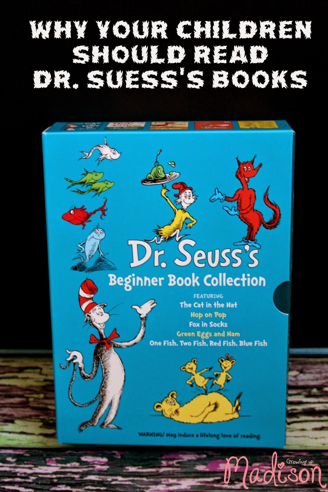 AnnMarie John: Why Your Children Should Read Dr. Seuss Books