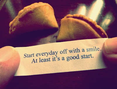 start everyday off with a smile.