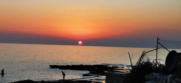 Západ slunce - Istrie Chorvatsko