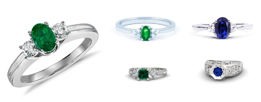 cincin kawin batu permata