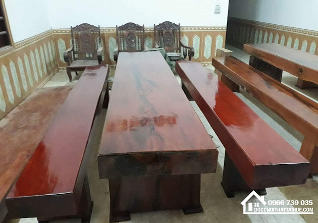 Bàn ghế phách nguyên khối k3 Huế - Ban ghe phach nguyen khoi Hue, Ban ghe phach Hue