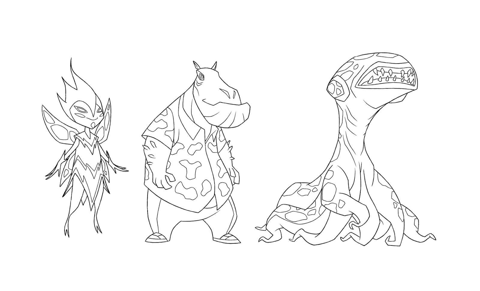 Ben 10 Omniverse Incidental Aliens