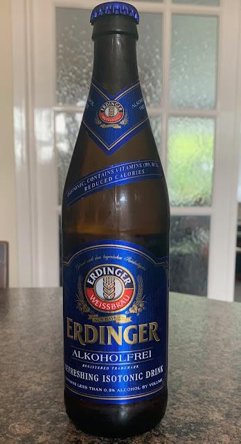 Erdinger Alkoholfrei Weissbrau Beer