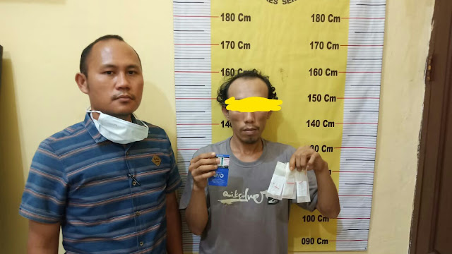 Dua Minggu Jual Sabu, Pengedar Sabu Asal Kampung Banten Ditangkap Tekab Polsek Perbaungan
