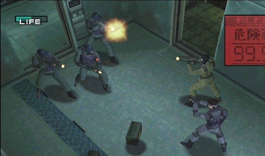 Metal Gear Solid 1 full pc game download free
