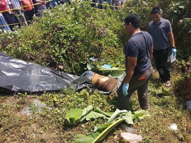 Jihar News, Mayat Laki - Laki Hebohkan Warga Lhok Merbo Sawang