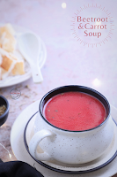 Beetroot, Carrot Soup (VEGAN & GLUTEN FREE)