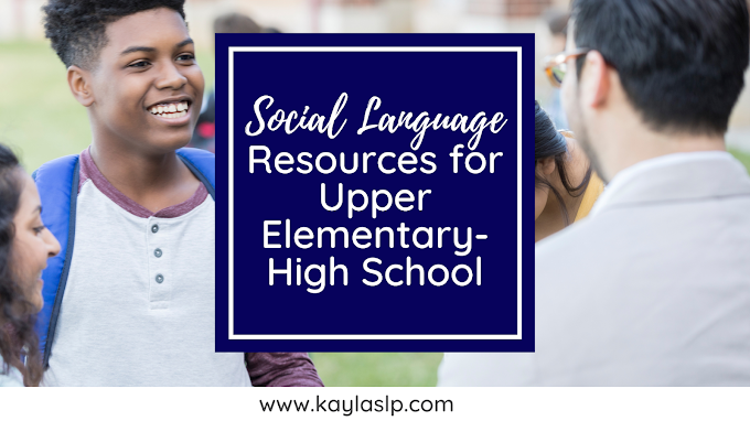 Social Language Resources For Upper Elementary ThroughHigh School