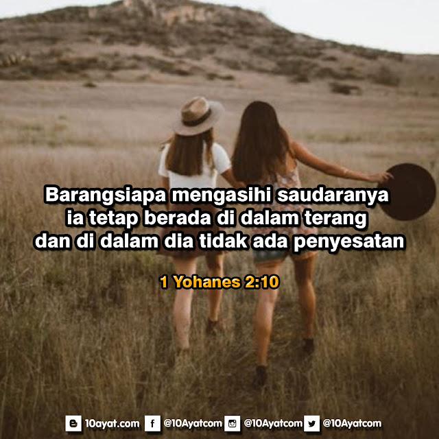 1 Yohanes 2:10