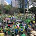 Cidades do Brasil registram mega manifestações a favor de Bolsonaro e contra o comunismo