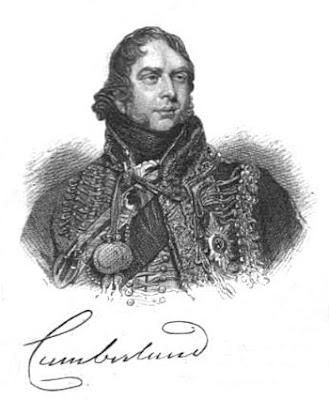 HRH Ernest, Duke of Cumberland  from A Biographical Memoir of Frederick,   Duke of York and Albany  by John Watkins (1827)