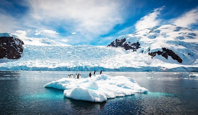 Melting ice sheets caused sea levels to rise up to 18 meters