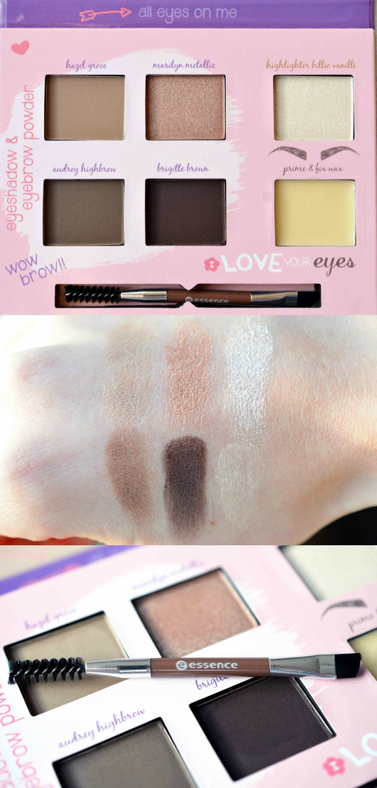 Shape & shadows eye contouring palette