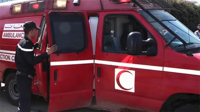 إنقلاب سيارة فلاحية مُحملة بأزيد من 20 شخصا