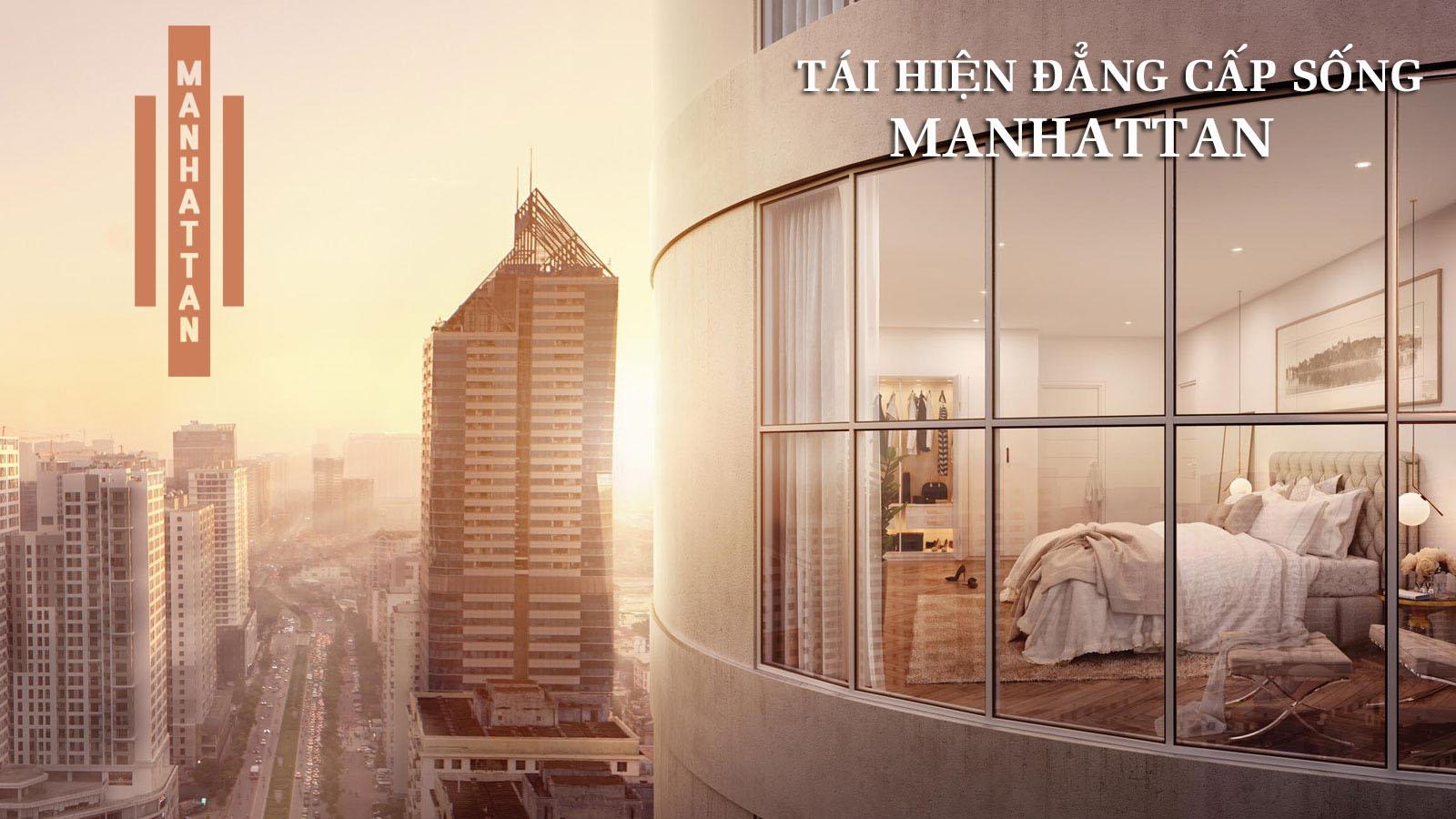 Phối cảnh dự án Manhattan Tower