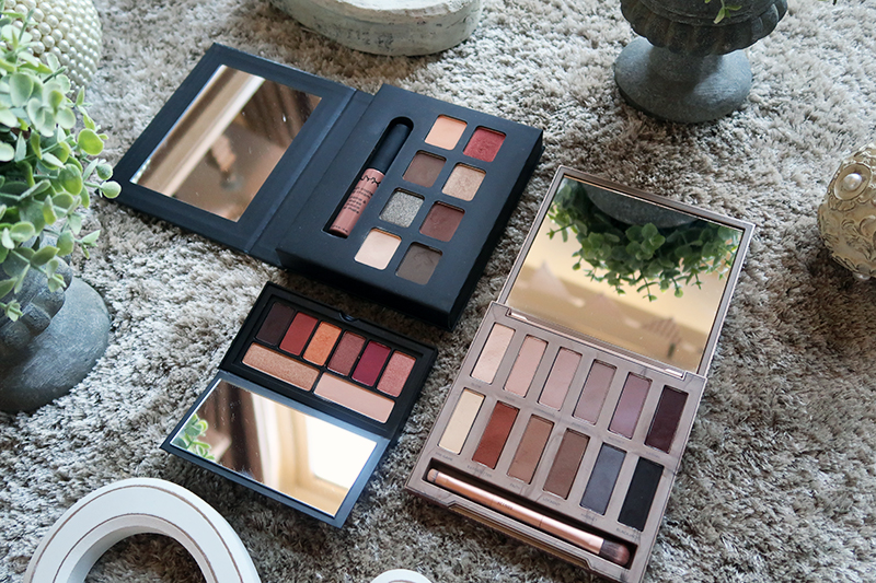 Smashbox Cover Shot Ablaze, Urban Decay Ultimate Basics, NYX Wanderlust London