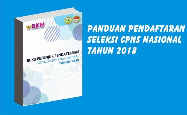 Download Buku Panduan Seleksi CPNS Nasional Tahun 2018
