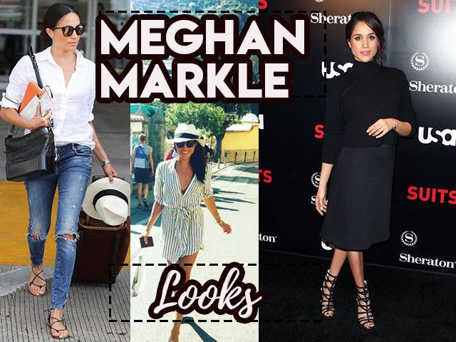 O estilo da noiva Meghan Markle, futura esposa do Príncipe Harry
