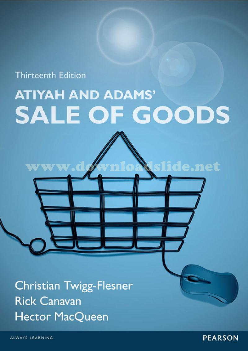 Maret 2018 downloadslide ebook solution manual powerpoint test bank book title atiyah and adams sale of goods edition 13th edition authors p s atiyah j n adams fandeluxe Gallery